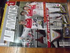 µ? Revue Le Mans Racing n°44 24 h du Mans 2007 Audi Lola Aston Martin Porsche