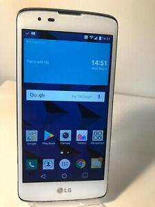 LG K8 K350N - 8GB - White (Unlocked) Android Smartphone Mobile