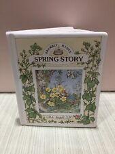 Royal Doulton Brambly Hedge BankSpring Story Book 1989 Jill Barklem Nursery