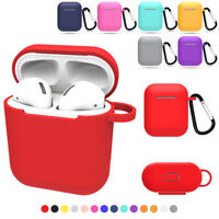Silicone Case Cover Protective Skin Non-slip Earphones Pouch For Apple Air Pod