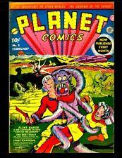 Planet Comics #2: Golden Age Science Fiction Comics
