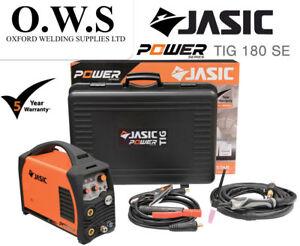 Jasic PRO TIG 180 SE 180amp DC TIG & MMA Inverter Welder With Torch & Leads 230v