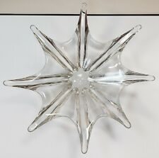 French Baccarat Crystal Stella Starfish Centerpiece Bowl
