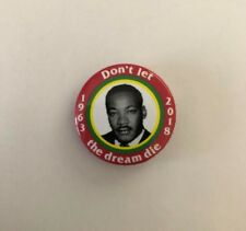 SUPREME MLK Pin Red box logo camp cap tnf martin luther king dream S/S 18