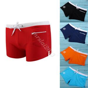 Men Swimwear Trunks Boxer Swimming Surf Board Swim Pants Shorts Beach Underwear