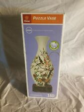 Pintoo 3D Jigsaw Puzzle Vase 48584 Singing Birds & Fragrant Flowers - NEW SEALED