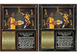 Kobe Bryant 1978-2020 Tribute Photo Plaque