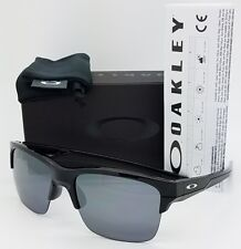 365ba17878 NEW Oakley Thinlink sunglasses Black BLK Iridium 9316-03 Thin AUTHENTIC  rimless