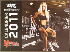 Calendrier Calendar Muscle & Fitness Bodybuilding 2011 Collector