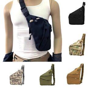 Anti-theft Men's Sling Bag Chest Crossbody Adjustable Shoulder Chest Pack