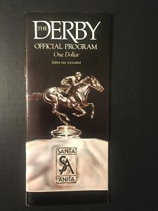 Santa Anita Derby Official Program  April 6, 1991