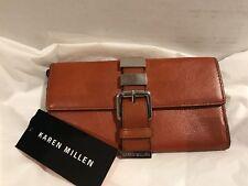 Karen Millen Brown Leather Wallet