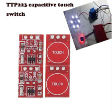 10pcs TTP223 Great Durable Touch Key Capacitive Settable Module Switch Board