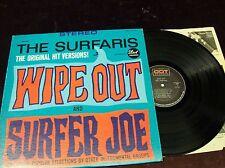 "SURFARIS ""WIPE OUT "" LP 1963 DICK DALE TRASHMEN BEACH BOYS MERMEN JAN & DEAN ETC"