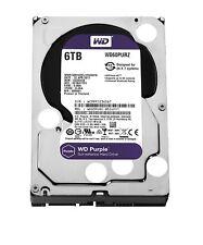 WD Western Digital Purple 6TB Surveillance HDD SATA III 3 Year Warranty WD60PURZ