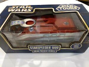 Star Wars Starspeeder 1000 Sneak Preview Vehicle Disney Star Tours New