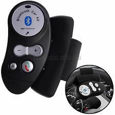 Kit Main Libre Bluetooth Spécial Voiture Attache Volant Modèle XKN-606 - Noir