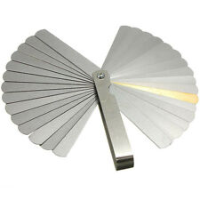 32 Blades Feeler Gauge Metric Gap Filler 0.04-0.88mm Thickness Gage For Measurem