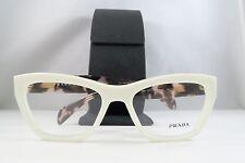 Prada VPR 14Q 7S3-1O1 Ivory/Havana New Authentic Eyeglasses 53mm w/Case
