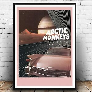 Arctic Monkeys A3 Poster Album Poster Prints for Walls Gig Art Music Print Tour