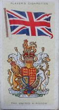 Single: No.45 THE UNITED KINGDOM - NATIONAL FLAGS AND ARMS John Player 1936
