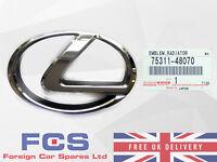 NEW GENUINE 03-08 LEXUS RX300 RX330 RX350 FRONT GRILLE BADGE EMBLEM 75311-48070