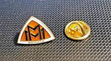 Maybach Pin Logo Enamelled 0 21/32x0 1/2in 2000er Years Original