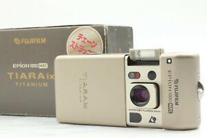 """""""Almost Unused"""" Fuji Fujifilm EPION 1000 MRC TIARA ix TITANIUM APS Camera JAPAN"""