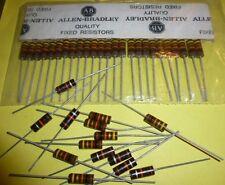 10 x résistance resistor Allen Bradley 10 K ohms 1 watts **