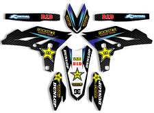 2007 2008 2009 2010 2011 2012 2013 2014 WR 250F GRAPHICS YAMAHA ROCKSTAR DECALS