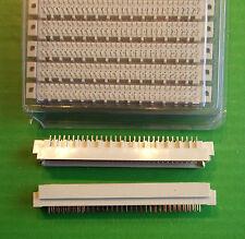 Spina DIN 64Way REVERSE Vert DIN41612 PCB D364MST1D buona condizione C 3 RIGA Corpo x 4 PZ ono