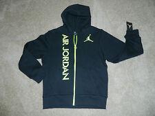 Youth NIKE, AIR JORDAN Hooded, Fleece Lined Zip Jacket/Sweatshirt, S (8-10) NWT
