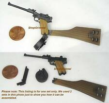 DRAGON 1:6 WW2 GERMAN ARTILLERY LUGER P-08 PISTOL MODEL G_P08AL