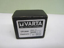 BOX OF 10 BMW E34 E36 E38 E39 E46 318i 318is 318ti M5 X5 Z8 Varta Key Battery