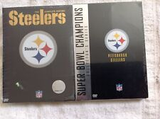 Nfl Pittsburgh Steelers Super Bowl Champion Collector Series 4 Dvd Set New