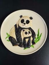 Goebel Pandas Mothers Plate 1977 in Box Free Ship