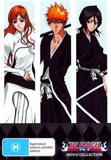 Bleach Movie Collection NEW PAL Cult 4-DVD Box Set  Shinsuke Sato Miyavi
