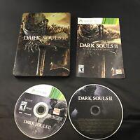 Dark Souls II -- Black Armor Edition (Microsoft Xbox 360, 2014) CIB