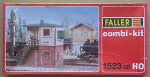 Faller HO/OO Combi-Kit 1523 GB Signal Box Model Kit Factory Sealed