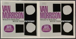 Van Morrison What's Wrong with This Picture? 2003 DOUBLE-SIDED PROMO POSTER