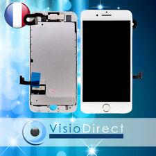 Ecran complet avec nappe camera et bouton home téléphone portable iPhone 7 BLANC
