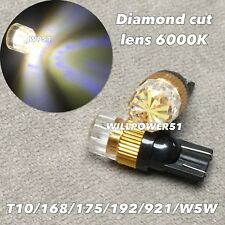 6000K Wedge T10 LED B bulb SMD DIAMOND LEN Parking w5w 168 194 2825 for Toyota L