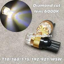6000K Wedge T10 LED B bulb SMD DIAMOND LEN Parking w5w 168 194 2825 for Toyota L