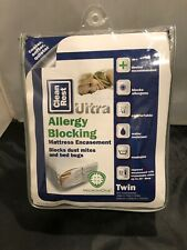 MicronOne Clean Rest Ultra Allergy Blocking Twin Mattress Encasement -No Bedbugs