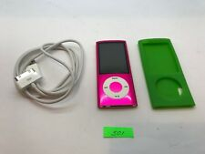 Apple iPod nano 5th Generation Pink (16 GB) Aj501 READ DESCRIPTION