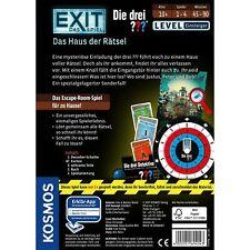 KOSMOS Exit Das Spiel Die drei ••• Das Haus der Rätsel Escape Einsteiger 694043
