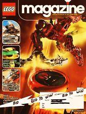 LEGO Magazine Publication Playbook of Lego Club 2004 Star Wars X-Pod Lego Racer