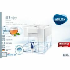 BRITA Optimax MAXTRA+ Plus 8.5L Water Filter Fridge Jug Large + Cartridge, White