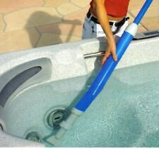 More details for hot tub vac. hand pump powered. no hoses, wasting water or batteries! spa / pool