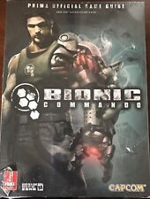 Bionic Commando (Prima Official Game Guide: Xbox 360, PS3, PC) Brand New Sealed!